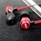 ZHiKU 入耳式线控带麦手机耳机 红色产品图片3