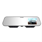 那卡 HYUNDAI现代超高清蓝牙后视镜超广角夜视汽车车载行车记录仪HDR-E80 出厂全套配件+16G内存卡