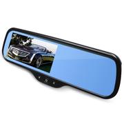 JVJ 专车专用车载GPS导航 倒车后视行车记录仪流动测速290°录制WIF安卓一体机 棱镜