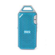 YESHM MIFA F4户外便携式迷你无线蓝牙音箱 户外便携手机音响 电脑音箱 读卡器 蓝色