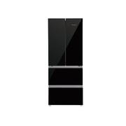 双鹿 BCD-398FGA 398升对开门冰箱(黑色)