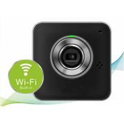 酷道 R2 无线摄像头云百万高清监控网络摄像机720p安防云眼手机对讲录音视频行车记录仪 黑色