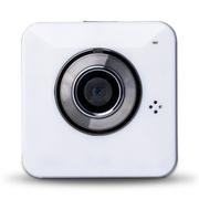 酷道 R2 无线摄像头云百万高清监控网络摄像机720p安防云眼手机对讲录音视频行车记录仪 白色
