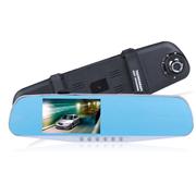 E路航 -T89行车记录仪高清双镜头4.3寸大广角夜视倒车影像一体机 双镜头+降压线+擦机布+读卡器 16G