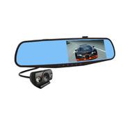 迈方 M600 行车记录仪高清夜视广角1080P 双镜头蓝镜防炫目车载记录仪 M600双镜头+8G