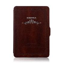 特洛利 亚马逊kindle paperwhite2皮套 KP1/2代保护套 适用499款 棕色 新款499产品图片主图