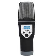 apphome 手机麦克风 智能手机K歌麦SF-670 唱吧专用麦克风 神秘黑