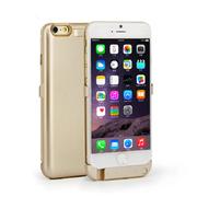 SENBOWE 苹果6背夹式电池 移动电源 备用充电宝 iPhone6 5.5英寸手机壳 土豪金5.5寸