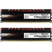 宇帷 CORE系列 火焰红 DDR3 2400 8GB(4G×2条)台式机内存(AVD3U24001104G-2CIR)