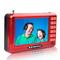 金正 n60老人看戏机4.3寸 唱戏机 视频播放器 扩音器 红色产品图片1