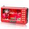 金正 n60老人看戏机4.3寸 唱戏机 视频播放器 扩音器 红色产品图片3