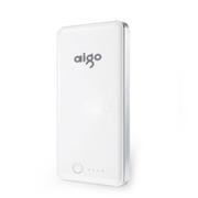 aigo 爱国者电子科技公司出品 E12 12000毫安 安全聚合物 移动电源/充电宝 珍珠白色 官方标配