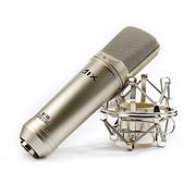 AIX RS-9A/B灵动系列 晶体管大振膜电容麦克风 录音麦克 银色
