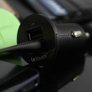 letouch 趣玩 Power Pin 螺丝USB车充-黑色 黑色