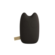 爱您纳 可爱卡通龙猫豆豆龙移动电源9000毫安 超薄 迷你通用型创意充电宝 岩石黑