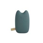 爱您纳 可爱卡通龙猫豆豆龙移动电源9000毫安 超薄 迷你通用型创意充电宝 复古蓝
