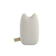 爱您纳 可爱卡通龙猫豆豆龙移动电源9000毫安 超薄 迷你通用型创意充电宝 自然米