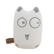 爱您纳 可爱卡通龙猫豆豆龙移动电源 7800毫安超薄迷你通用型创意充电宝 皮皮