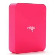aigo 爱国者电子科技公司出品 移动电源 智能电源 充电宝 TN104 10000毫安 粉红色 官方标配+爱国者A33 充电器