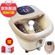 朗康 足浴盆 洗脚盆 电动滚轮按摩数码大屏足浴器 自动恒温按摩足浴桶 LK-8129电动8滚轮豪华版