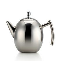 仁品 RENPIN不锈钢茶壶 冷水壶泡茶壶橄榄形茶壶电磁炉通用 1.0L产品图片主图