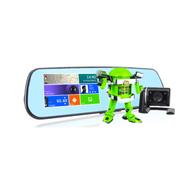凌变者 F1 后视镜款安卓行车记录仪双镜头高清广角夜视GPS导航仪记录仪 4.3寸手写电容屏 标配+16G