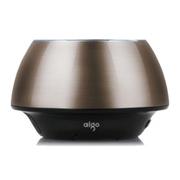 aigo 爱国者(便携)SP-B200音箱无线蓝牙免提通话FM收音插卡小音响正品 金属灰 官方标配