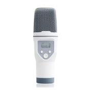 呛调 手机唱吧K歌专用电容麦克风 电脑苹果安卓录音话筒套装 白色