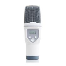 呛调 手机唱吧K歌专用电容麦克风 电脑苹果安卓录音话筒套装 白色产品图片主图