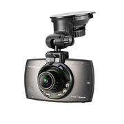 途伴 TP806V车载迷你行车记录仪高清循环录影1080P夜视广角镜头1200W带停车监控 高端灰32G+停车监控线