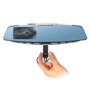 gebite G10蓝牙插拔后视镜 行车记录仪 4.3屏 超薄 高清1080P 蝙