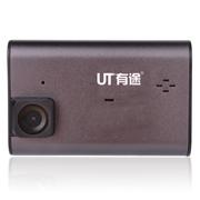 有途 UT-A9行车记录仪一体机 高清1080P 158度大广角 加强夜视 黑色 官方标配+16G TF卡