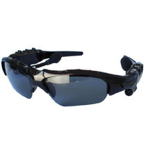 爱玛科 【货到付款】 G500智能蓝牙耳机眼镜 立体声听歌蓝牙太阳镜音箱 钢琴黑产品图片主图