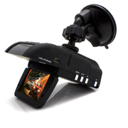 SZYUPITE 优比特GRV-V8车载行车记录仪记预警仪一体机固定流动测速一体记录仪 标配含8G内存卡