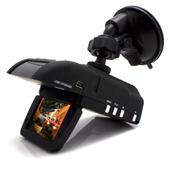 SZYUPITE 优比特GRV-V8车载行车记录仪记预警仪一体机固定流动测速一体记录仪 标配含16G内存卡