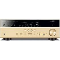 YAMAHA RX-V577 家庭影院7.2声道(7*135W)AV功放机 wifi/支持3D 金色产品图片主图