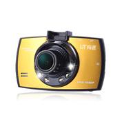 有途 UT-A8行车记录仪 170° 广角 高清1080P 红外夜视王 金色 官方标配+16G TF卡