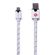 理想者 安卓usb数据线加长充电线适用于三星/华为/魅族/小米手机充电器小米 白色 1.5米
