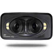 钛尔贝 行车记录仪三镜头/双镜头/前后镜头360度全景高清广角夜视 行车记录仪双镜头 标配无卡