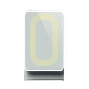 ANSOR 无线充电板 适用于诺基亚/苹果/三星S5/note3/htc无线充电器 白色标配+套餐五