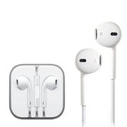 ZHiKU 耳机入耳式 线控功能带话筒手机耳机 白色