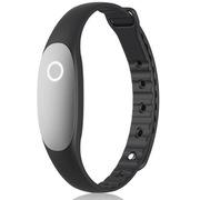 bong 2 智能手环睡眠监测运动防水计步器待机一年蓝牙可穿戴设备腕带 砚黑色