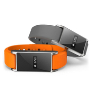 特兰恩 智能蓝牙手表手环 防水适用于苹果安卓三星智能手表手环男女通用防辐射 橙色