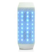 纽曼  无线蓝牙音箱 音响 音箱 蓝牙音响 炫彩LED音箱 低音炮 适用于苹果/三星/小米 白色