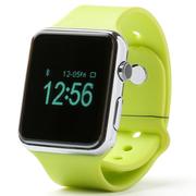 美创 苹果iphone6 plus智能手环蓝牙免提通话手表健康管理来电显示 绿色