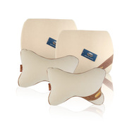 品尚车居 爵士系列精品套装  护颈枕一对+弧形腰枕一对 四件套装