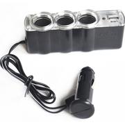 其它 安驾者 一拖三USB 汽车点烟器价值68元