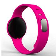 wisebrave H8 智能手环 蓝牙4.0手表睡眠检测情侣运动计步器 适用于苹果/小米 红色