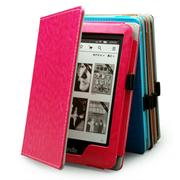 雷麦 NEW Kindle 6英寸护眼非反光电子墨水触控显示屏 内置wifi 4G 电子书阅读器 电子书+保护套玫红