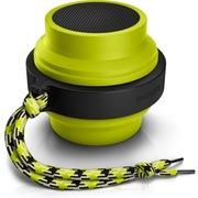 飞利浦 BT2000L 蓝牙无线 伸缩便携智能苹果音箱音响 小巧方便 大品牌功能多外观不错 (青柠绿)